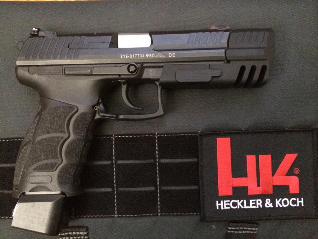 Heckler & Koch HK p30 Match Weight mounted