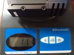 Weight of steel match weight