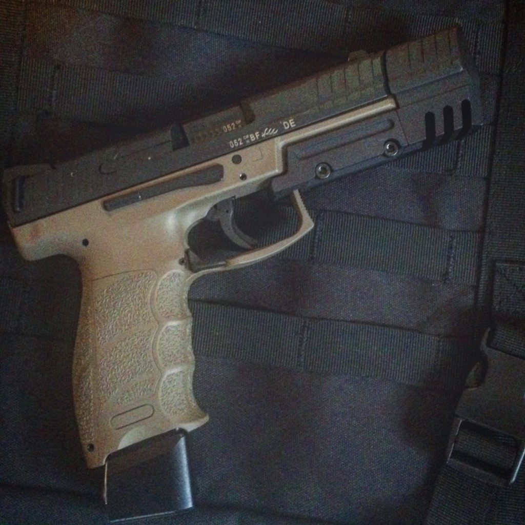 HK VP9 with Match Weight Compensator