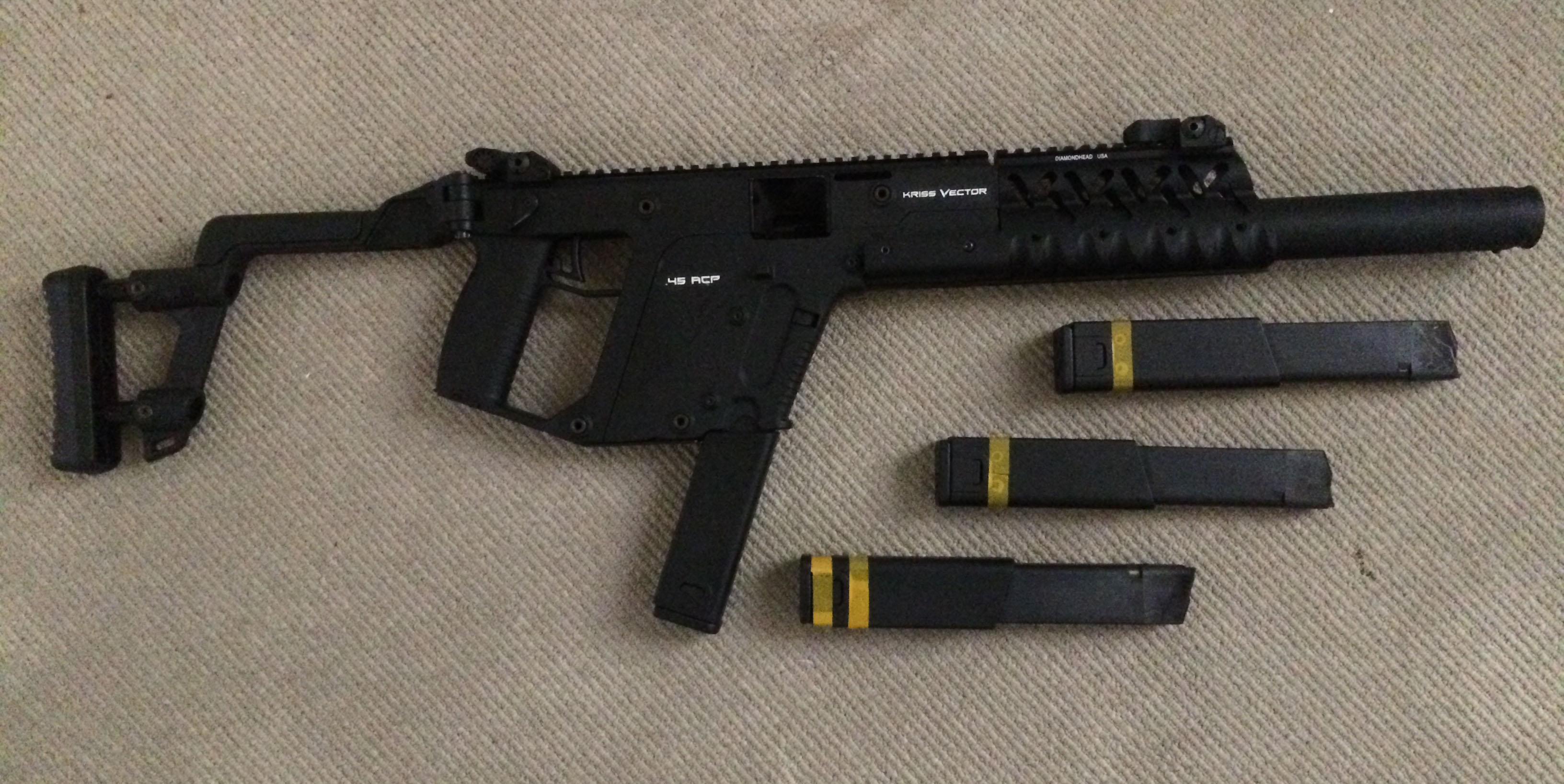 Kriss Vector with Diamond Head handguard